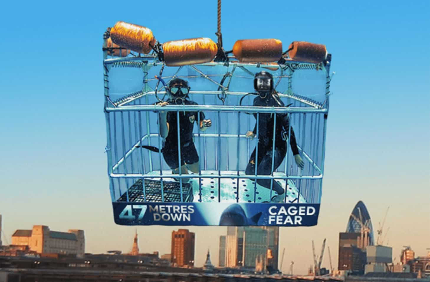Caged Fear Publicity Stunt of the Week