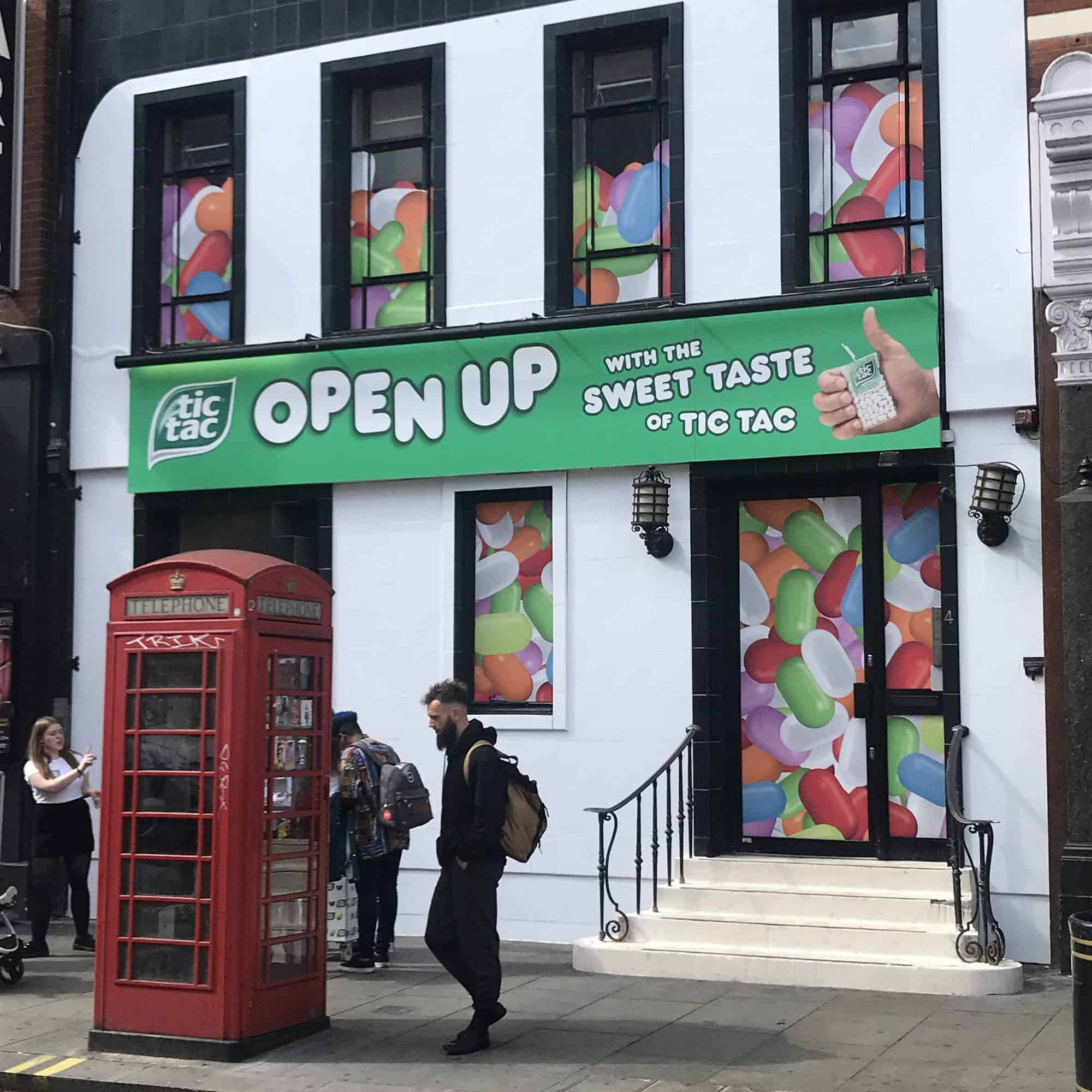 Sketch Events creates interactive Open Up house for Tic Tac