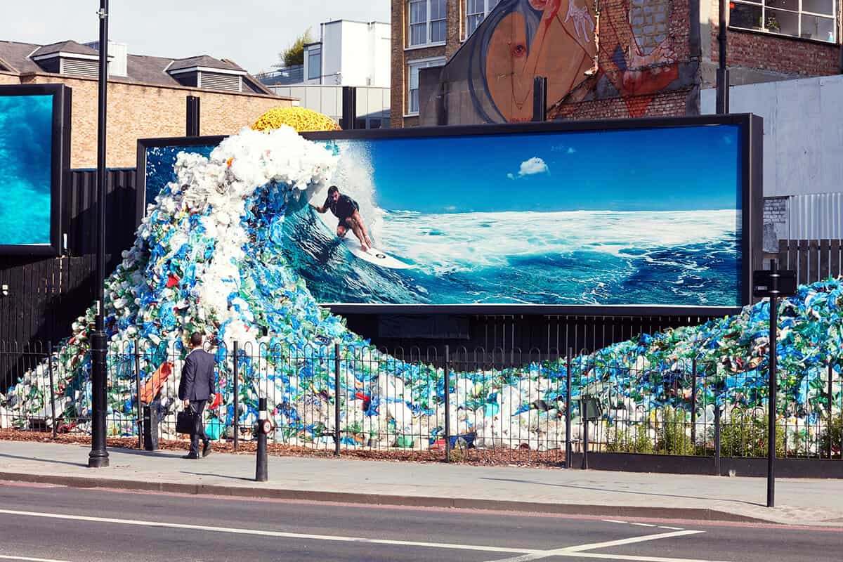 Corona Wave stunt by Sketch Events for Wieden + Kennedy